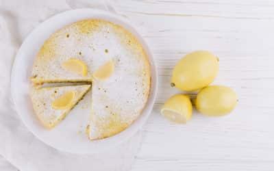 Bolo de Limão com Bella Fiber