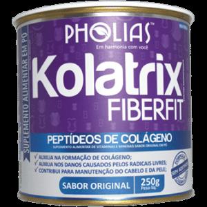 Kolatrix Fiberfit - Colágeno Hidrolisado Enriquecido com Fibras e Picolinato de Cromo
